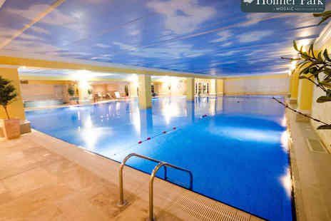 Holmer Park Spa and Health Club - Full Spa Day with One Treatment, Use of Facilities, Glass of Prosecco, and Chocolates for One  - Save 58%