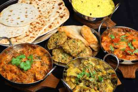 4500 Miles from Delhi - All you can eat lunchtime Indian buffet for two - Save 0%