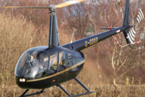 Helicentre Aviation - Helicopter Flight Experience with a Glass of Champagne Each for Two - Save 47%