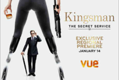 Vue - Tickets to the Regional Premiere Screening of Kingsman The Secret Service, Starring Colin Firth and Samuel L. Jackson - Save 0%