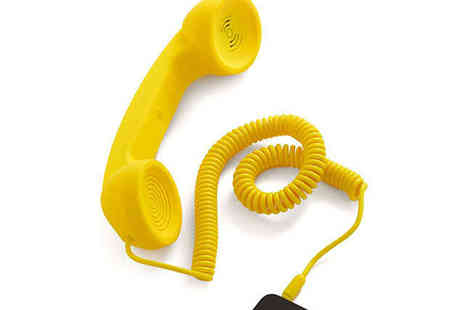 Retro Style  - Retro Phone Headset, Choice of Colour, Delivery Included - Save 38%