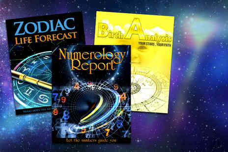 Stellar Astrology - Astrology life forecast natal birth report and numerology report' - Save 95%
