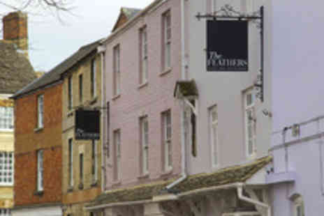 The Feathers Hotel - One night Cotswolds Break for Two with Five Dish Tasting Menu - Save 60%