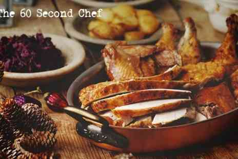 60 Second Chef - Online Christmas Dinner Course  - Save 80%