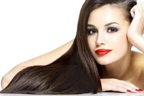 Scissorz Hair & Beauty - Micro Ring Hair Extensions  With Cut and Colour - Save 62%