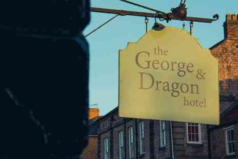 The George & Dragon Hotel -  North Yorkshire Stay For Two With Breakfast  - Save 23%