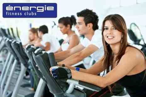 Energie Fitness Club - 30 days of fitness  - Save 82%