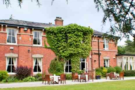 Bartle Hall Hotel -  Historic Lancashire Hotel Stay with Meals & Bubbly - Save 45%