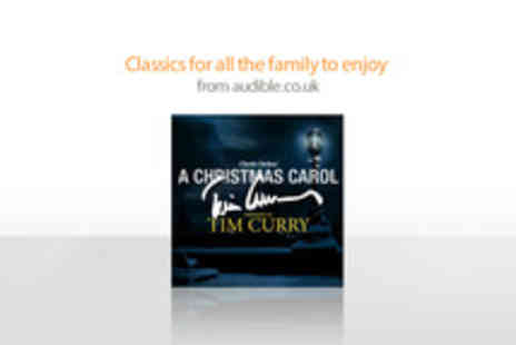 Audible - Free Audiobook of A Christmas Carol Narrated by Tim Curry - Save 100%