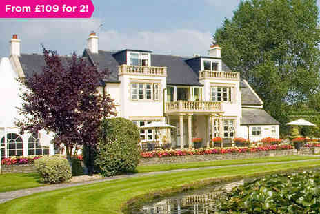 Rookery Manor - One night stay for two with breakfast in Somerset - Save 0%