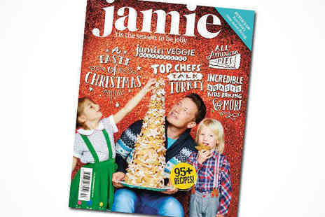 Jamie Magazine -  12 Month Subscription Plus Copy of Jamies Brand New Comfort Food Book, Delivery Included - Save 60%