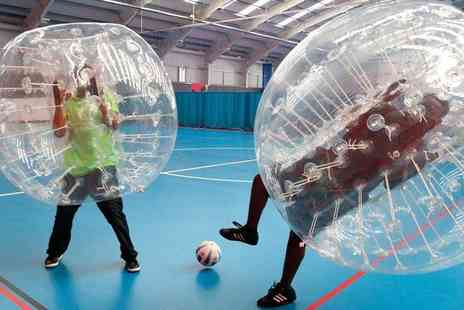 Excel Bubble Football - One hour Zorb football experience for up to 15 - Save 0%