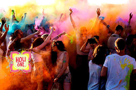 HOLI ONE - Early Bird Day Pass ticket to the HOLI ONE colour festival - Save 0%