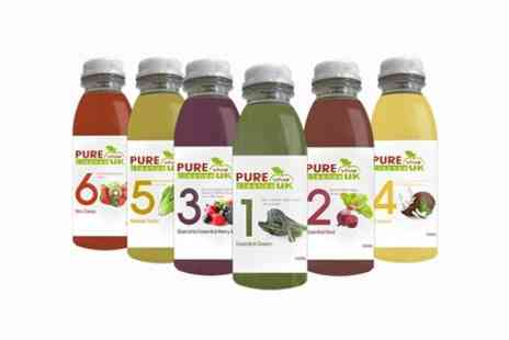 Pure Viva Cleanse - Three Days Juice Cleanse - Save 15%