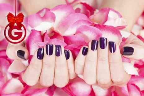 LA Hair & Beauty - Shellac Manicure or Pedicure - Save 62%