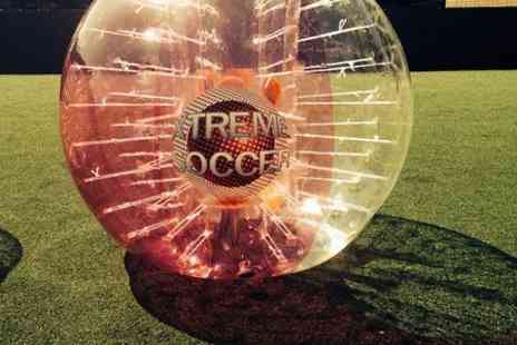 Xtreme Soccer  - Zorb Football Game For Up to 15  - Save 50%