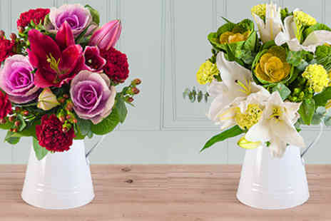 Blossoming Gifts - Apple Rouge Bouquet - Save 49%