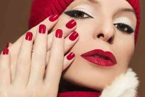 Desire Hair and Beauty​ - Gel Manicure, Pedicure or Spray Tan - Save 55%