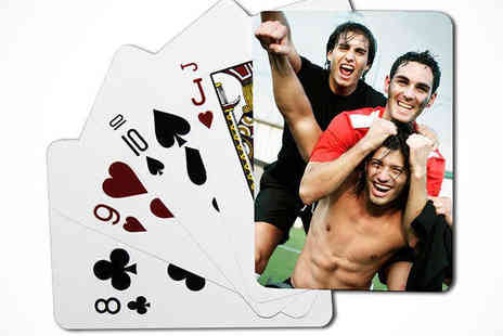 Uk Photo Deals - Personalised Photo Playing Cards - Save 60%