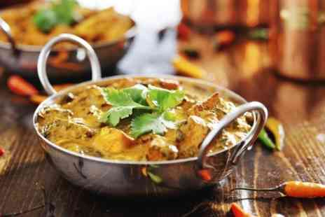 Curry Culture - Two Course Indian Meal and Beer or Wine For Two - Save 49%