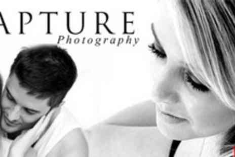 Capture Photographic Studio - One Hour Boudoir or Couples Photo Shoot Plus £100 Voucher Towards Prints - Save 89%