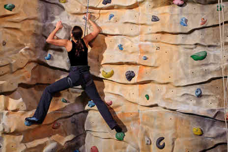 Rope Race Climbing Centre - One hour rock climbing session and two bouldering sessions - Save 72%