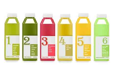 Clean Juice -  Three  Five to Clean Juice Programme - Save 60%