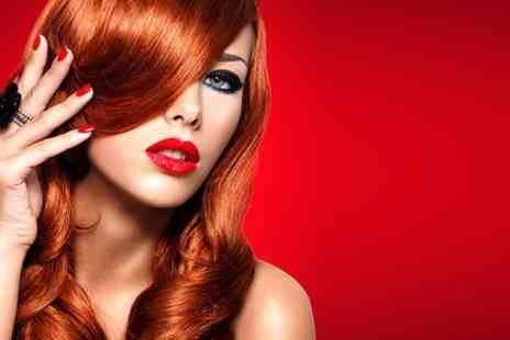 Dazzling Hair Boutique - Cut and Blow Dry With Colour  - Save 0%