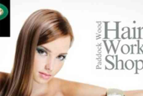 Hair Workshop - T-Section Highlights or Full Head of Colour, Wash, Cut and Blow Dry - Save 64%