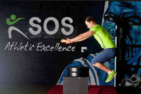 SOS Athletic Excellence - One Month of Unlimited Bootcamp Sessions  or Three Personal Training Sessions  - Save 82%