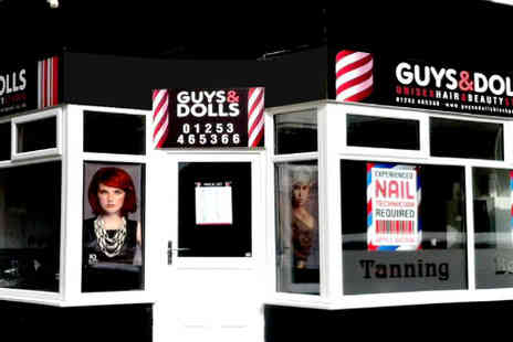 Guys & Dolls  - Get a brand new hairstyle - Save 50%