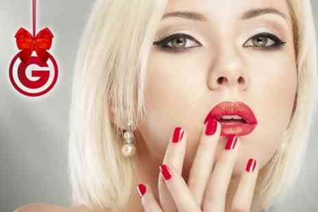 Beauty Box - Brazilian Manicure or Pedicure or Both - Save 33%