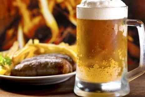 The Sirloin - Entry to The Sirloin Sausage and Beer Festival and Burger  - Save 50%