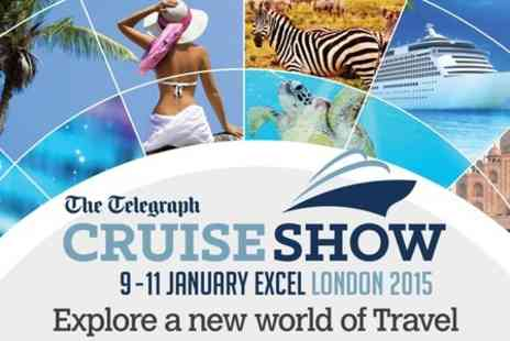 The Telegraph Cruise Show - Entry For Two Adults TO The Telegraph Cruise Show - Save 69%