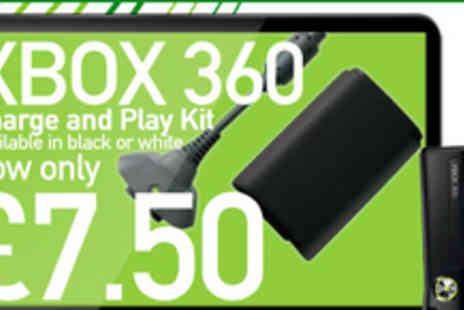 Bluebud - Never buy batteries again with this Xbox 360 play and charge kit - Save 70%