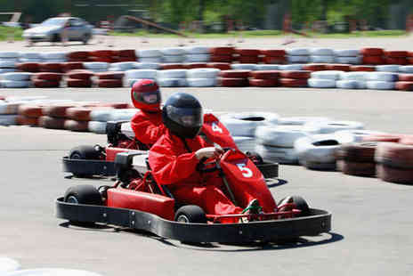 West Country Karting - 80 Laps of Go Karting for One - Save 75%