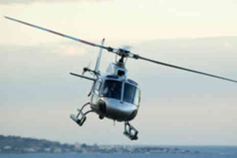 Hields Aviation - Helicopter Flight Over Leeds or Nottingham with Champagne - Save 67%