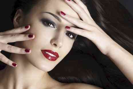 Gloss Nail Salon - Shellac Nails on Hands or Deluxe Pedicure - Save 35%