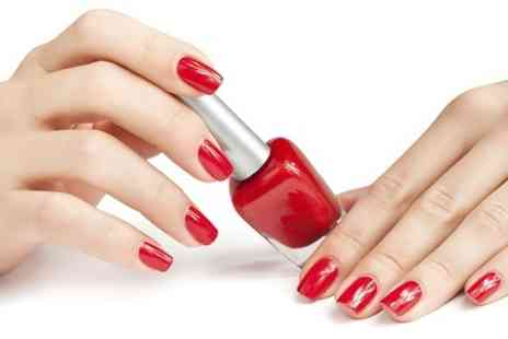 Nail Candy - Shellac Manicure or Pedicure or Both  - Save 47%