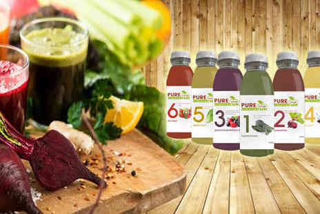 Pure Viva Cleanse - Three Day Juice Cleanse Packs - Save 40%