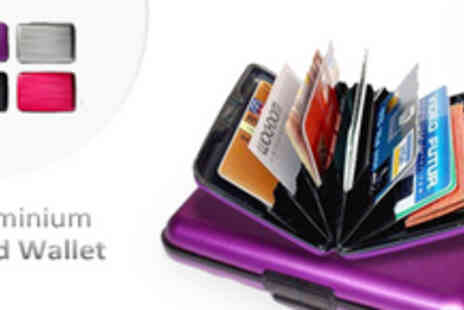 Genee Wenee - Two Aluminium Card Wallets - Save 63%