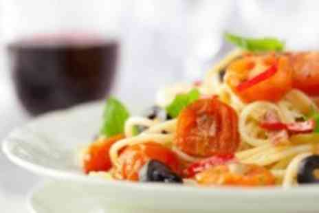 Romanos Restaurant -  Two course Italian set meal for 2 plus a glass of wine each & coffee - Save 0%