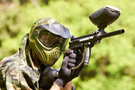 Force 10 Paintball - Paintballing day for 5 including 100 paintballs each - Save 80%