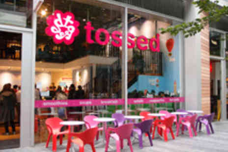 Tossed -  Choice of Hot Combo Meals, Porridge or Toasties with a Juice or Smoothie - Save 29%