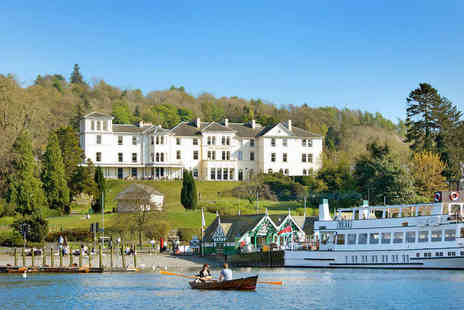 The Belsfield Hotel - Overnight Lake Windermere Getaway for Two, with a Three Course Dinner and a Full English Breakfast - Save 42%