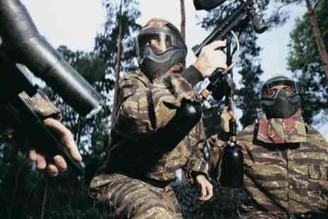 BlindFire Paintball - £2 for a full day paintballing for one person with 100 balls and lunch - Save 0%