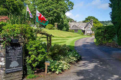 Broadoaks Country House - Overnight Cumbrian Retreat for Two with Breakfast, Cream Tea, Four Course Dinner, Spa Passes, and Late Checkout  - Save 48%
