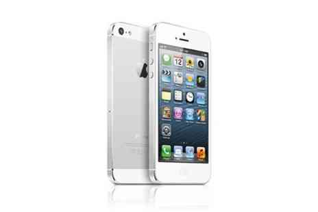 Yellowstone Partners - Apple iPhone 5 in White with 64GB and Unlocked Sim  - Save 24%