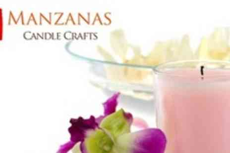 Manzanas Candle Crafts - The Complete Candle Making Kit - Save 60%