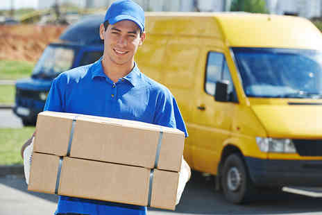 Parcel2Go - £10 delivery voucher for local and worldwide parcel delivery  - Save 75%